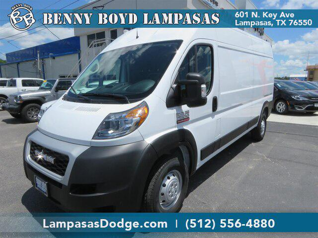 """2019 Ram Promaster Cargo Van 2500 High Roof 159"""" WB for sale in Lampasas, TX"""