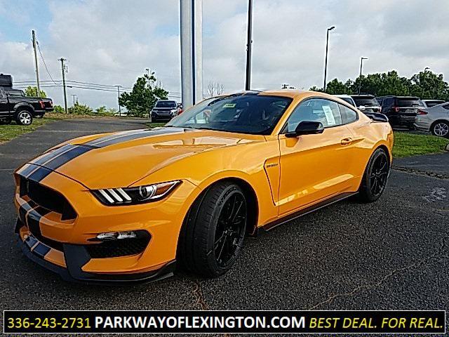Orange Fury Metallic Tri-Coat 2019 Ford Mustang SHELBY GT350 2D Coupe Lexington NC