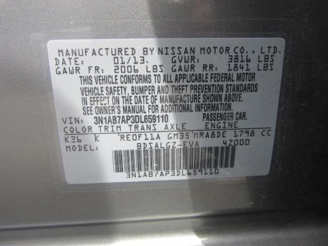 2013 Nissan Sentra SL 28
