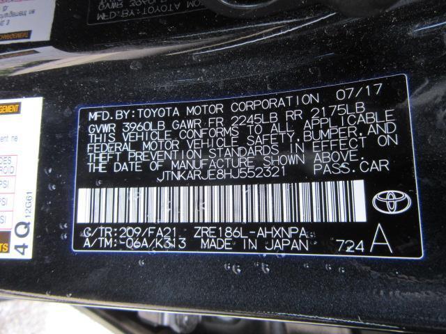 2017 Toyota Corolla Im CVT (Natl) 28
