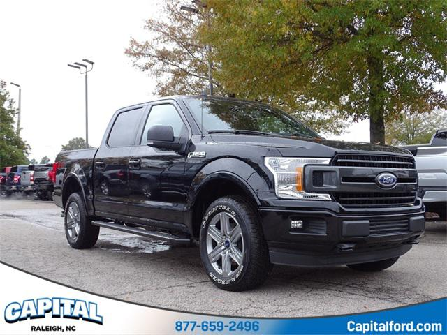 Black 2019 Ford F-150 XLT 4D SuperCrew Raleigh NC