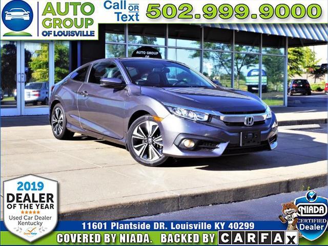 Honda Dealership Louisville Ky >> Used 2016 Honda Civic Ex L Coupe In Louisville Ky Near 40299 2hgfc3b74gh355287 Auto Com