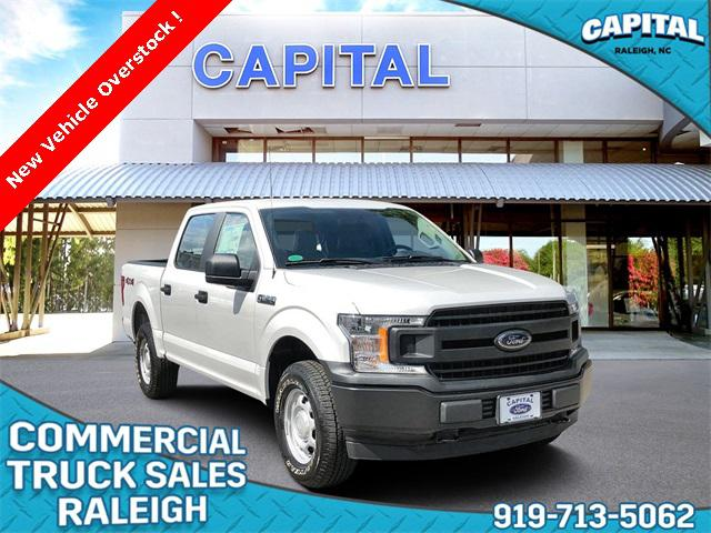 Oxford White 2018 Ford F-150 XL WORK TRUCK 4D SuperCrew Raleigh NC