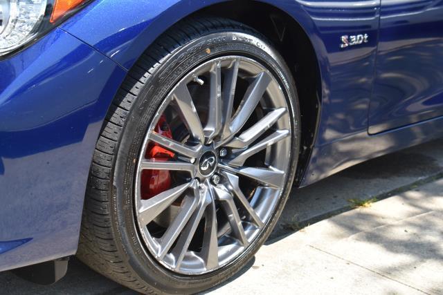 2017 INFINITI Q50 Red Sport 400 5