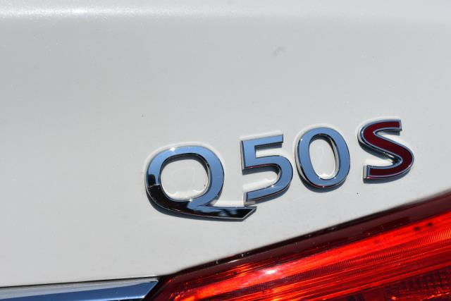 2017 INFINITI Q50 Red Sport 400 4