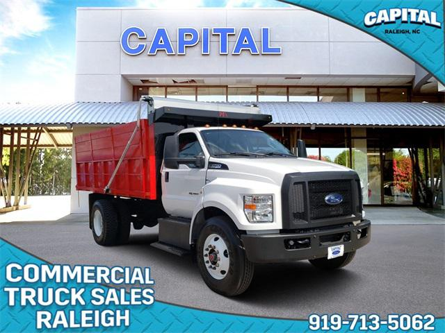 Oxford White 2018 Ford F-750Sd  2D Standard Cab Raleigh NC