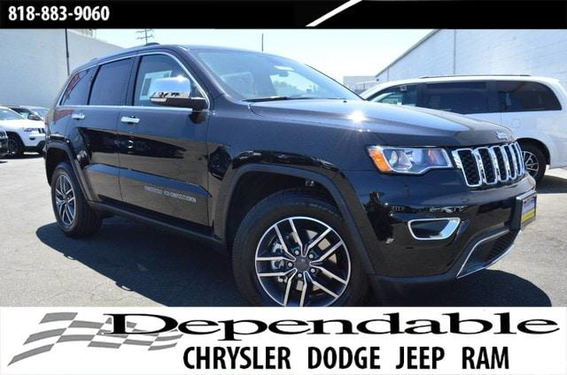 2019 Jeep Grand Cherokee Limited for sale in Canoga Park, CA