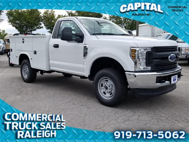 Oxford White 2019 Ford F-250Sd 8FT SERVICE BODY 2D Standard Cab Lexington NC
