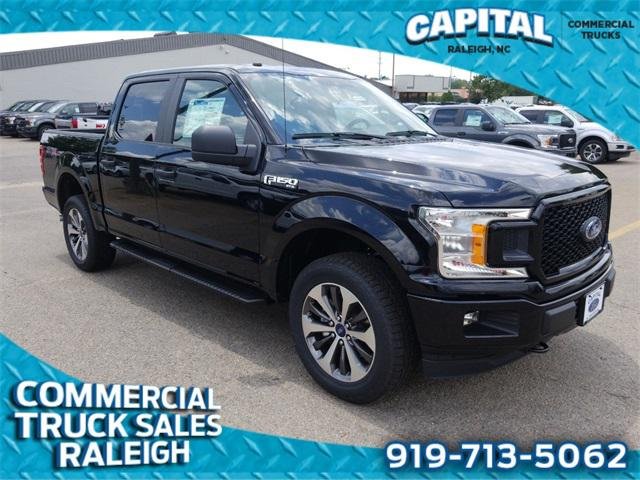 Black 2019 Ford F-150 XL 4D SuperCrew Lexington NC