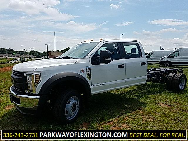 Oxford White 2019 Ford F-450SD XL Cab/Chassis Lexington NC