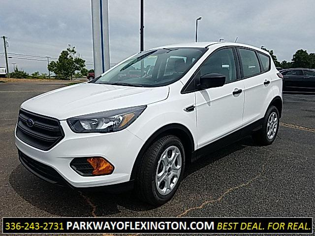 Oxford White 2019 Ford Escape S 4D Sport Utility Lexington NC