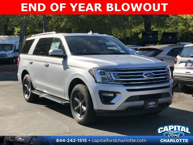 Ingot Silver Metallic 2019 Ford Expedition XLT 4D Sport Utility Charlotte NC