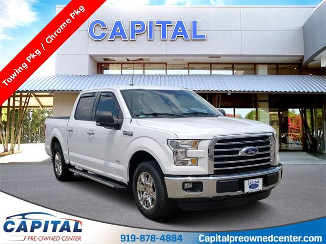 Oxford White 2015 Ford F-150 XLT 4D SuperCrew Raleigh NC