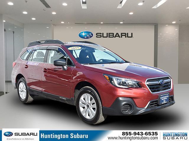 Crimson Red Pearl 2019 Subaru Outback 2.5I SUV Huntington NY