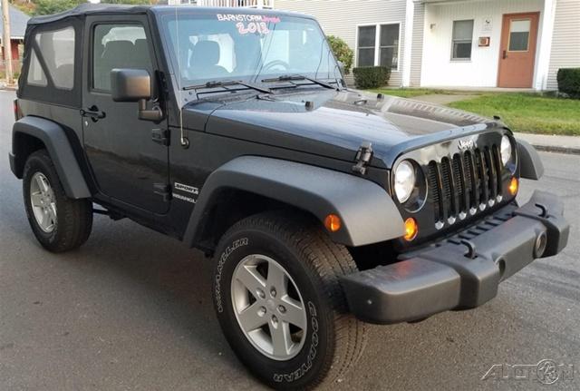 2013 Jeep Wrangler Sport for sale in Spencer, MA