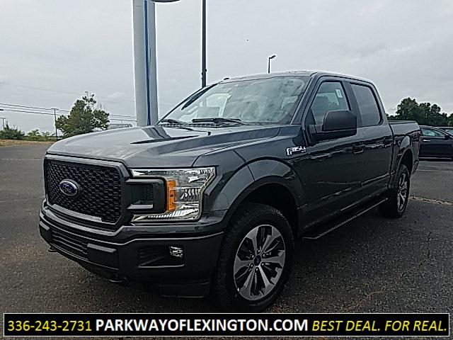 Magnetic Metallic 2019 Ford F-150 XL 4D SuperCrew Lexington NC