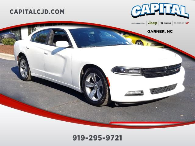 White 2017 Dodge Charger SXT 4dr Car Garner NC
