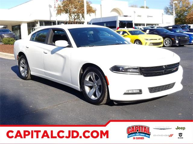 White 2017 Dodge Charger SXT 4dr Car Raleigh NC