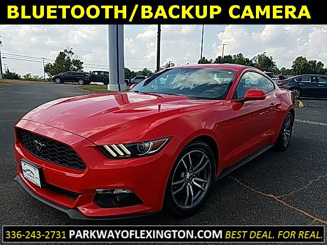 Race Red 2016 Ford Mustang ECOBOOST 2D Coupe Lexington NC