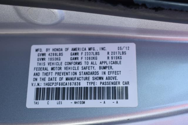 2012 Honda Accord Sdn SE 13
