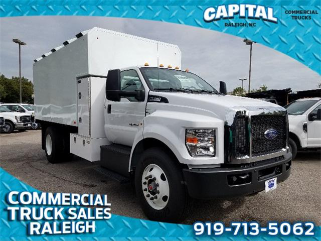 2019 Ford F-750Sd 15FT CHIPPER BODY Regular Cab Chassis-Cab Slide