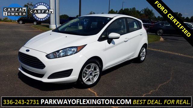 White 2018 Ford Fiesta SE 4D Hatchback Lexington NC