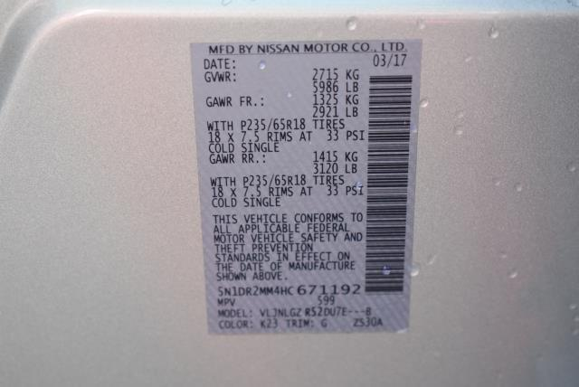 2017 Nissan Pathfinder SL 28