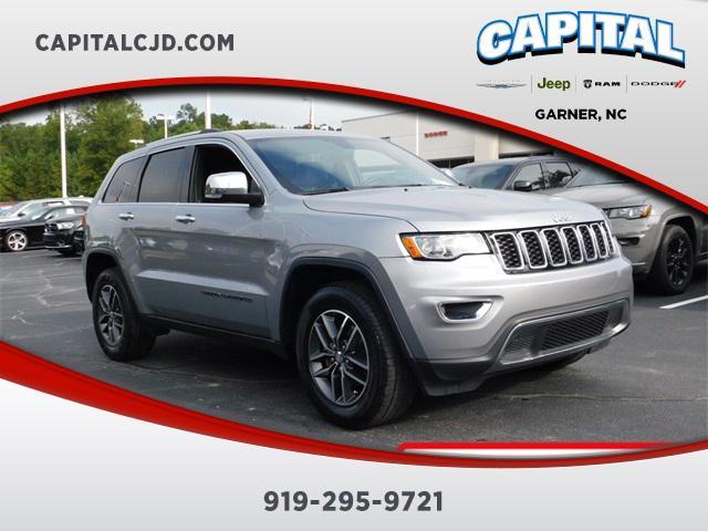 billet silver metallic clearcoat 2017 Jeep Grand Cherokee LIMITED SUV Garner NC