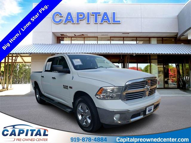 Bright White Clearcoat 2014 RAM 1500 BIG HORN 4D Crew Cab Raleigh NC