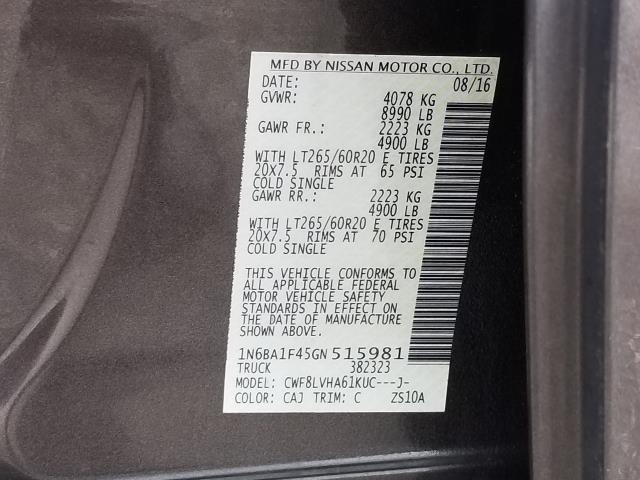 2016 Nissan Titan Xd SL 29