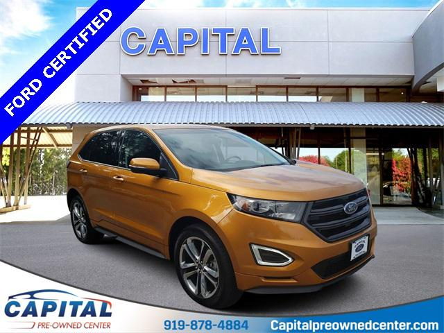Electric Spice Metallic 2015 Ford Edge Sport 4D Sport Utility Indian Trail NC