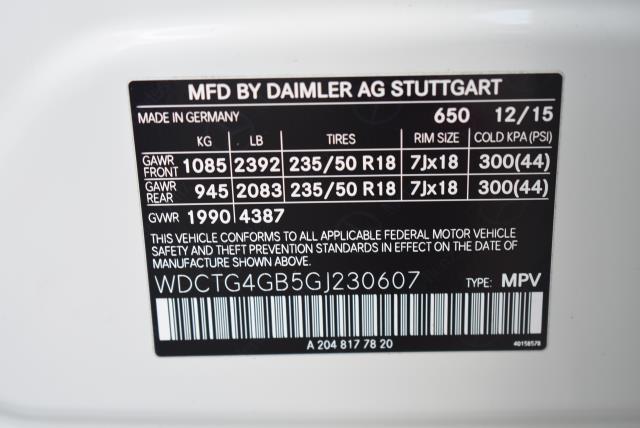 2016 Mercedes-Benz Gla GLA 250 29