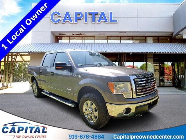 Sterling Gray Metallic 2011 Ford F-150 XLT 4D SuperCrew Raleigh NC