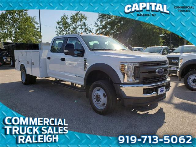 Oxford White 2019 Ford F-450Sd 11FT SERVICE BODY Cab/Chassis Winston-Salem NC