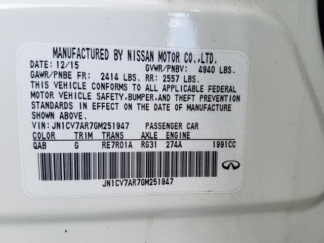 2016 INFINITI Q50 4dr Sdn 2.0t Premium AWD 28
