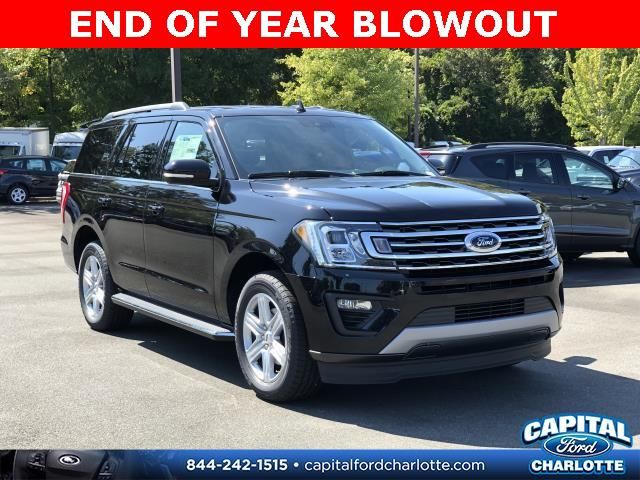Agate Black Metallic 2019 Ford Expedition XLT 4D Sport Utility Charlotte NC