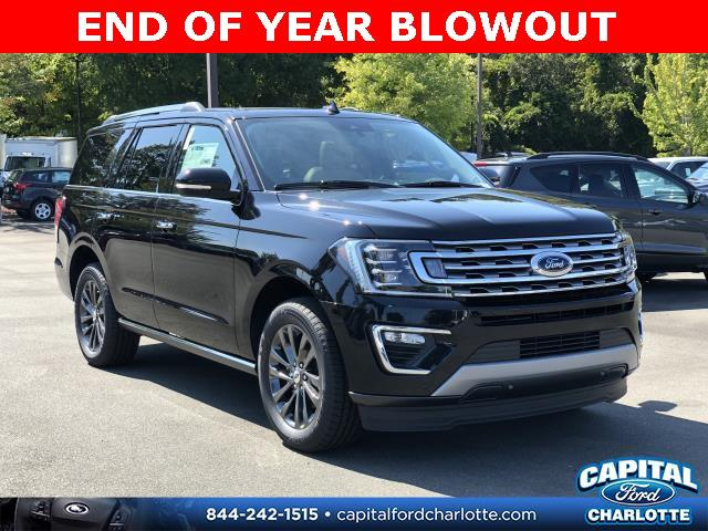 Agate Black Metallic 2019 Ford Expedition LIMITED 4D Sport Utility Charlotte NC