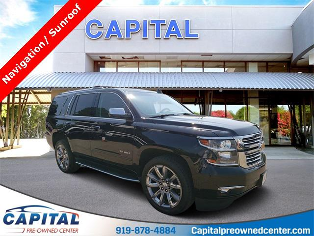 Slate Gray Metallic 2016 Chevrolet Tahoe LTZ 4D Sport Utility Indian Trail NC