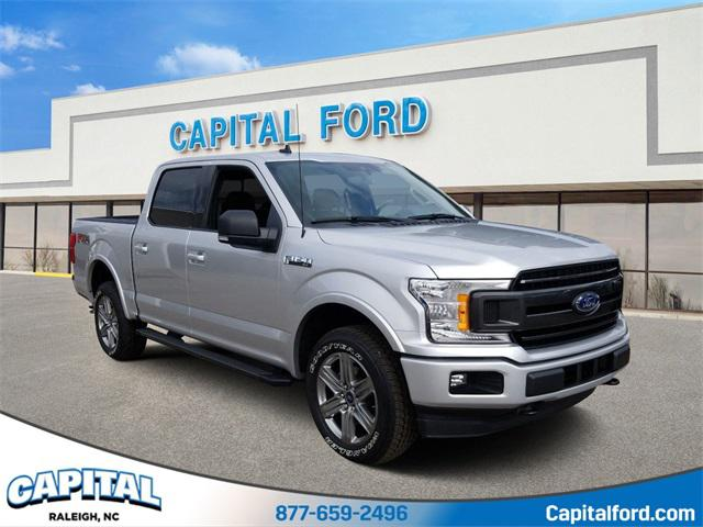Ingot Silver 2019 Ford F-150 XLT 4D SuperCrew Mooresville NC