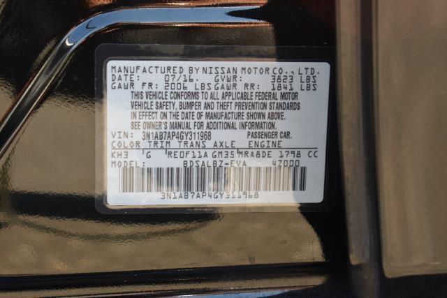 2016 Nissan Sentra 4dr Sdn I4 CVT S 29