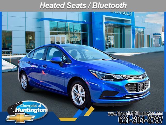 Kinetic Blue Metallic 2017 Chevrolet Cruze LT 4dr Car Huntington NY