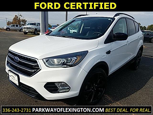 Oxford White 2017 Ford Escape SE 4D Sport Utility Lexington NC