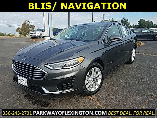 Magnetic Metallic 2019 Ford Fusion Hybrid SEL 4D Sedan Lexington NC