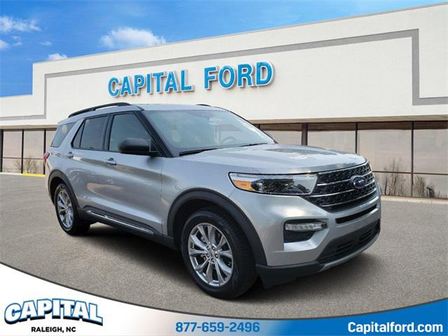 Silver 2020 Ford Explorer XLT 4D Sport Utility Raleigh NC