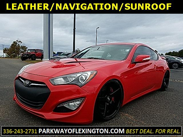 Tsukuba Red 2013 Hyundai Genesis Coupe 3.8 Track 2D Coupe Wake Forest NC