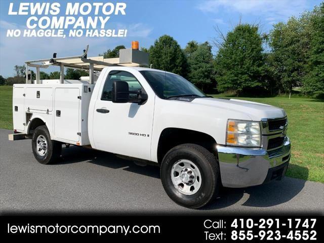 2008 Chevrolet Silverado 3500HD SRW Work Truck for sale in Clarksville, MD