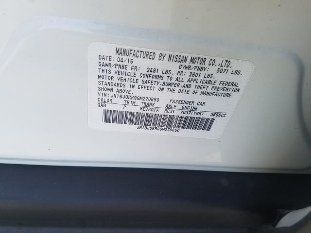2016 INFINITI QX50 AWD 4dr 29