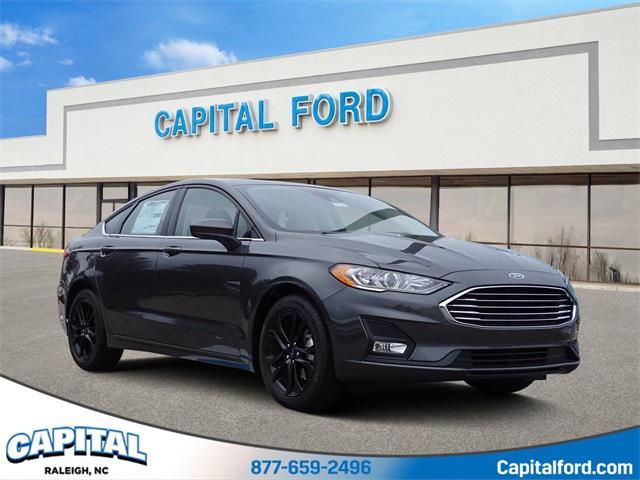 Magnetic 2020 Ford Fusion SE 4D Sedan Raleigh NC