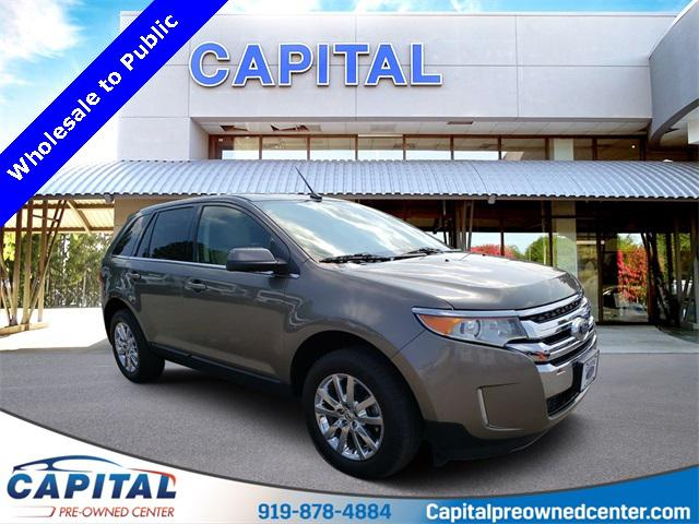 Mineral Gray Metallic 2014 Ford Edge LIMITED 4D Sport Utility Raleigh NC