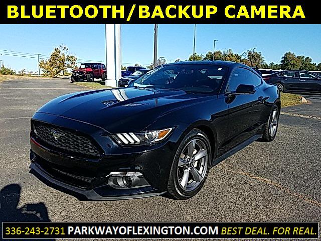 Shadow Black 2016 Ford Mustang V6 2D Coupe Lexington NC